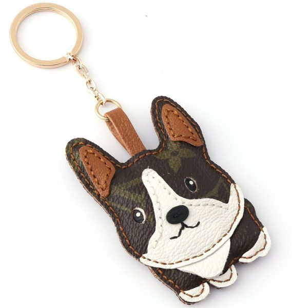 repurposed-lv-corgi-keychain-charm
