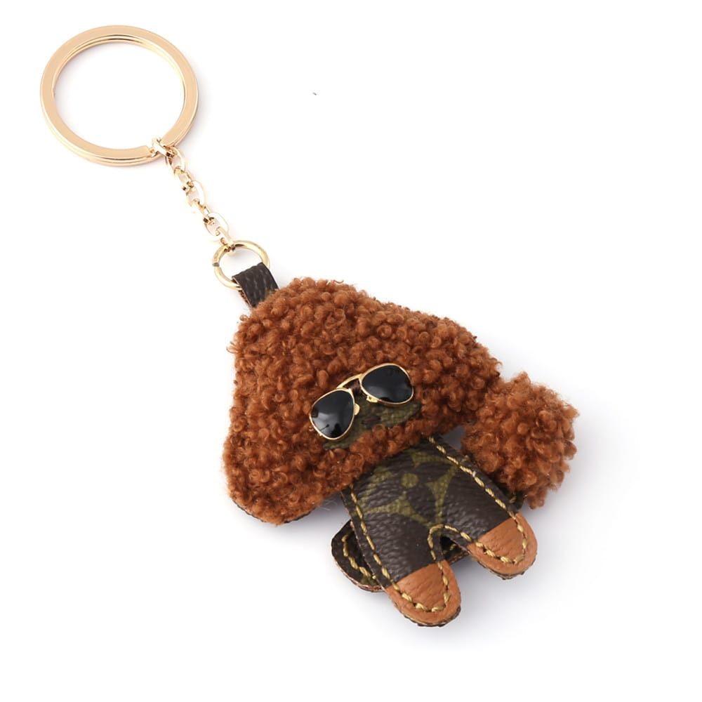 repurposed-lv-toy-poodle-keychain-charm
