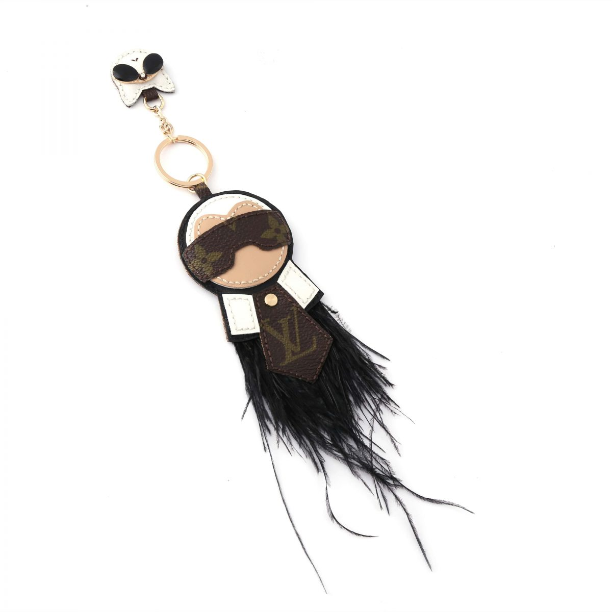 upcycled-karl-lagerfeld-and-his-cat-fashion-keychain-charm