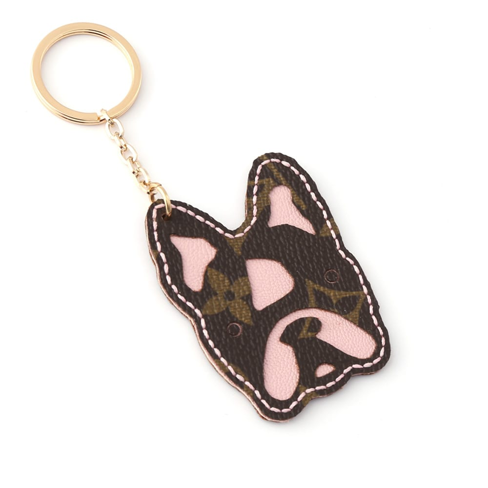 upcycled-lv-bulldog-keychain-charm