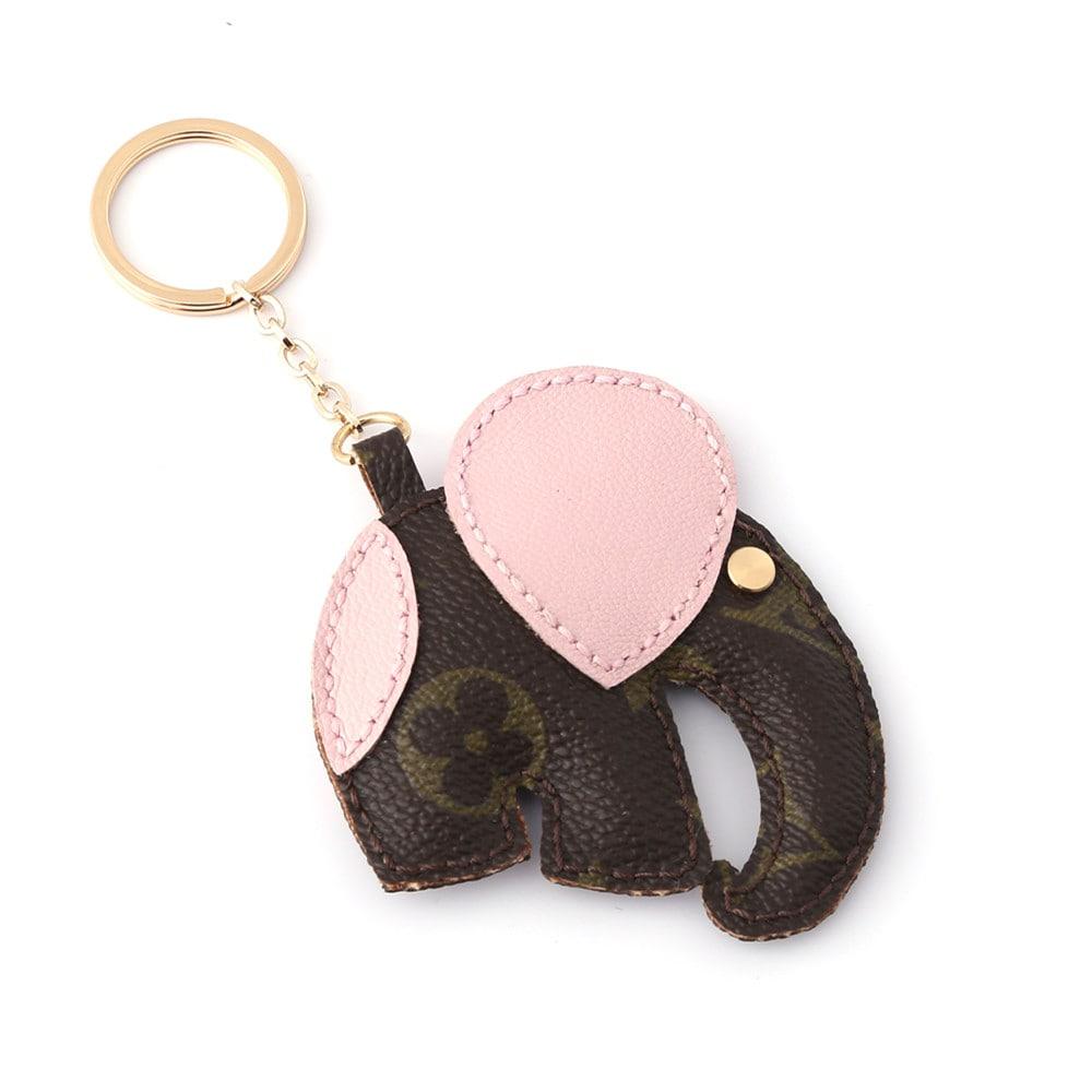 upcycled-lv-double-face-elephant-keychain-charm