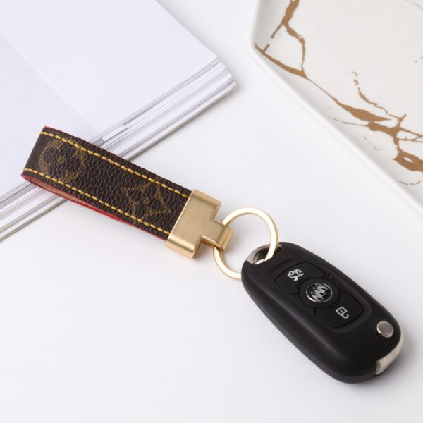 Upcycled Louis Vuitton Keyfob