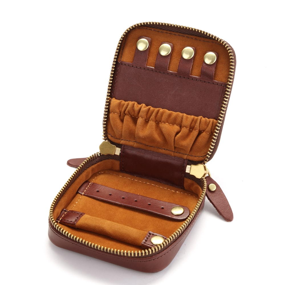 Repurposed LV Portable Jewelry Pouches