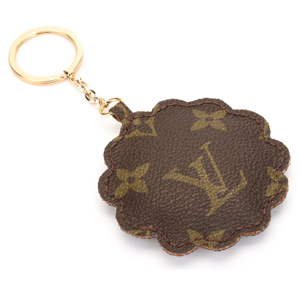 Upcycled Louis Vuitton Cute Sheep With Tie Keychain