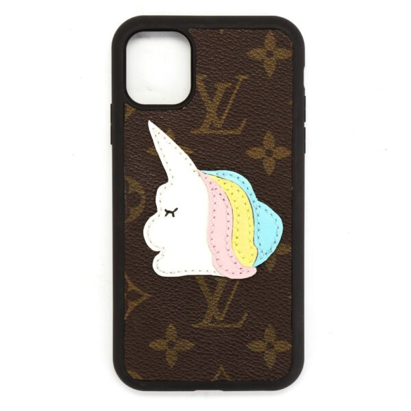 repurposed lv unicorn phone case